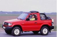 Mitsubishi Pajero II Canvas Top